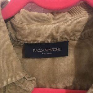 Piazza Sempione Tops - Piazza Sempione corduroy shirt